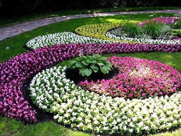 Пошаговый алгоритм разбивки цветника  В настоящее время у людей все больше…