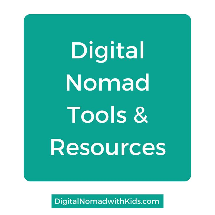 The best tips for digital nomads | tools & resources | so you can be efficient and productive while working remote and location independent