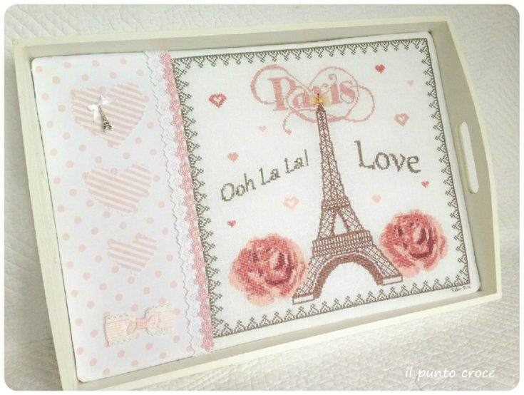 I Love Paris - finition