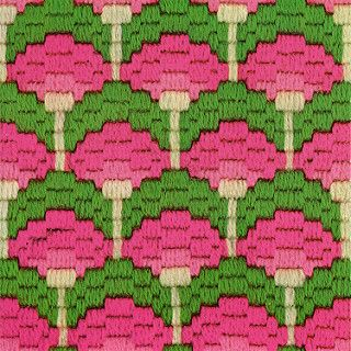 bargello magic - lollypop trees variation | from bargello ma… | Flickr