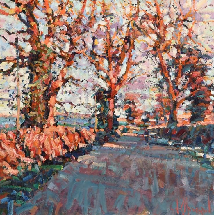 Quot Road To Butterfly Cottage Quot By Arthur K Maderson Irish