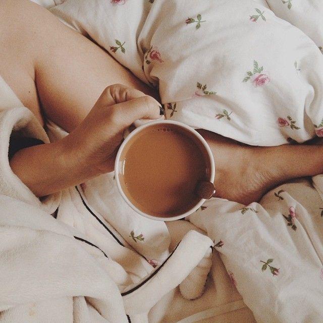 Sunday Coffee in Bed