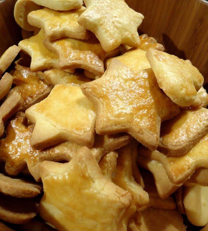 Kurche ciastka migdałowe / Almond butter cookies