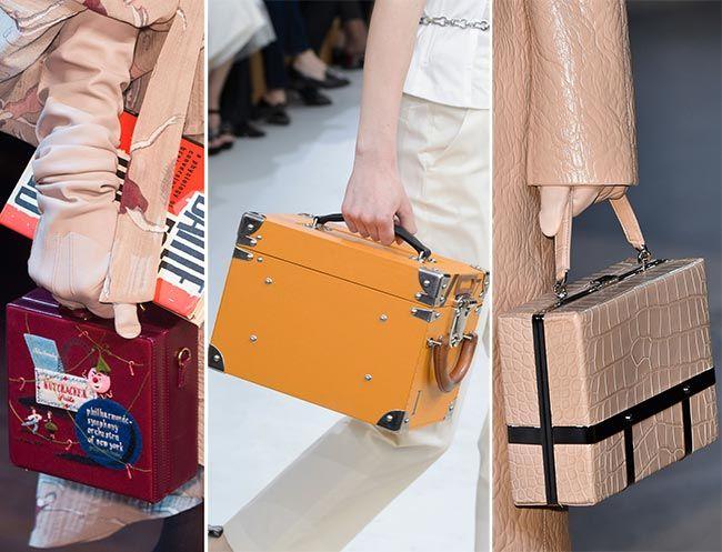 Fall/ Winter 2015-2016 Handbag Trends: Square Boxy Handbags: