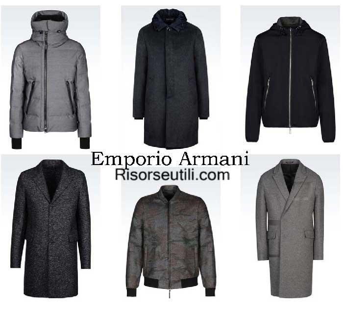 Jackets Emporio Armani fall winter 2016 2017 for men