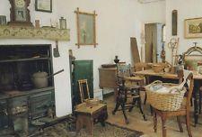 Norfolk Village Medieval Victorian Kitchen Fireplace Saucepan Pottery Postcard