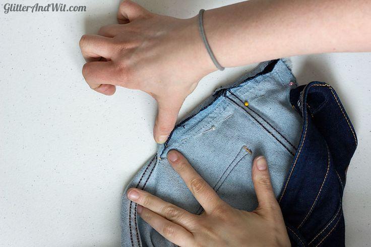 Como fazer exame em sua cintura Jeans - Passo a Passo Tutorial