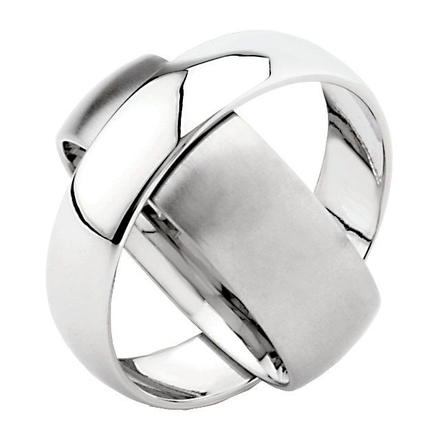 Stainless Steel 6mm & 8mm Rotating Band Size 10...(STXOE10:204:P).! Price: $99.99