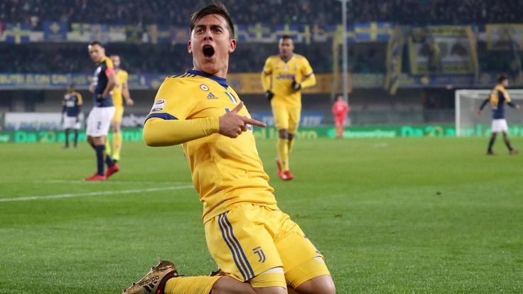 Juventus see off Verona thanks to late Paulo Dybala double #News #Football #Juventus #PauloDybala #Review