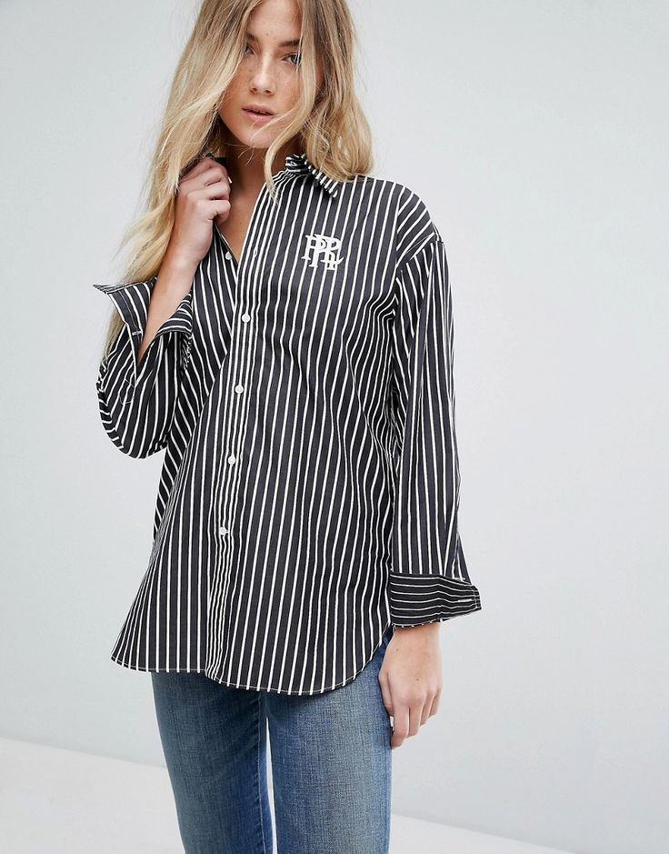 DESIGN Open Neck Blouse With Oversized Pocket - Black Asos With Mastercard Cheap Price W6ruQBkQg