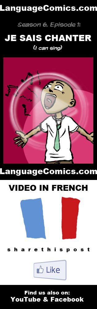 Practice your pronunciation and learn #French with this episode and many more. Enjoy and share! https://www.youtube.com/watch?v=br_li-ZSwFM --------------------------------------------- Also find us on http://www.Facebook.com/LanguageComics - - - http://www.YouTube.com/LanguageComicsTeam - - - http://www.Instagram.com/LanguageComics_