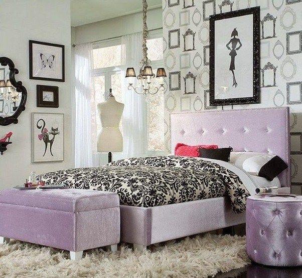 Vintage Paris Bedroom Ideas In Black And White Color Designs