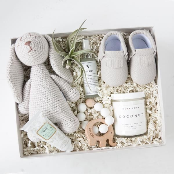 New Mom Gift Box Msp Client Gift Ideas Baby Gift Box