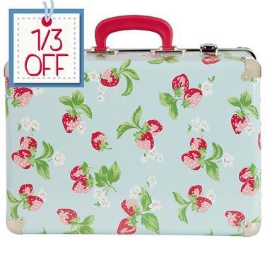 Cath Kidston - Strawberry Suitcase