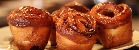 Brioches à la cannelle maison  Homemade cinnamon rolls