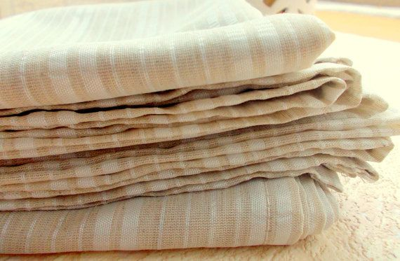 FREE SHIPPING White Sheer Fabric, Beige Fabric,Striped Fabric, Gold Fabric,Shinny Fabric, Christmas Fabric,Craft Fabric,Tightly Woven Fabric