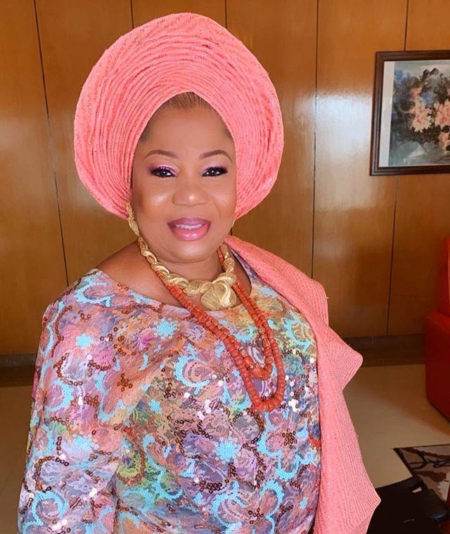 Yoruba Nigerian Brides Mother Wedding Outfits