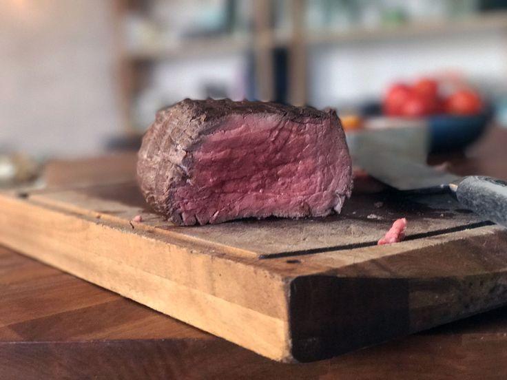 For at lave den bedste roastbeef skal du behandle den nænsomt. Den indeholder jo ikke meget fedt og bliver derfor hurtigt sej og tør. Men ikke denne her!