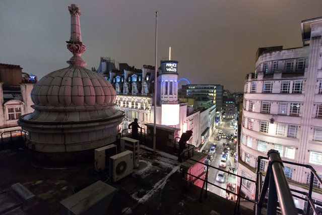 Trocadero, London | London From The Rooftops #piclectica