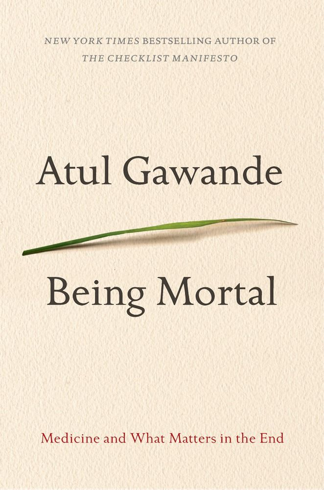 Being Mortal by Atul Gawande. Cannot recommend this highly enough. Incredibly important read for anyone with aging parents. Groundbreaking.