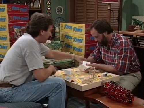Home Improvement 5x26 Games, Flames and Automobiles - Video ...