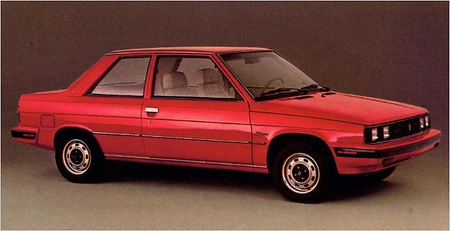 1984 renault alliance mine was white with blue interior for Garage renault 94