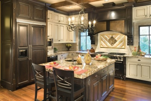 like the combo of cabinets and also the islandIdeas, Cabinets Colors, Kitchens Design, Traditional Kitchens, Black Kitchens, Colors Kitchens, Cabinets Design, Kitchens Cabinets, Alan Mascord