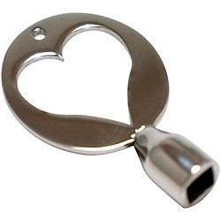 Dojo Drum Keys Stainless Steel Drum Key (HS1)