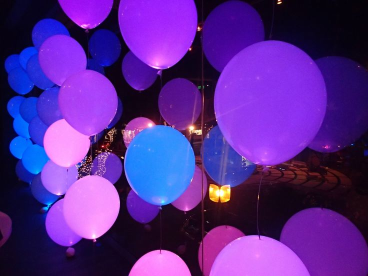 Use LED Balloon Lights for Glowing Balloons! https://glowproducts.com/us/clip-on-led-lights