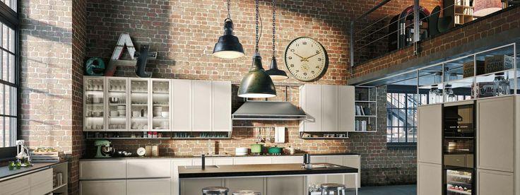 cucina industrial Frame