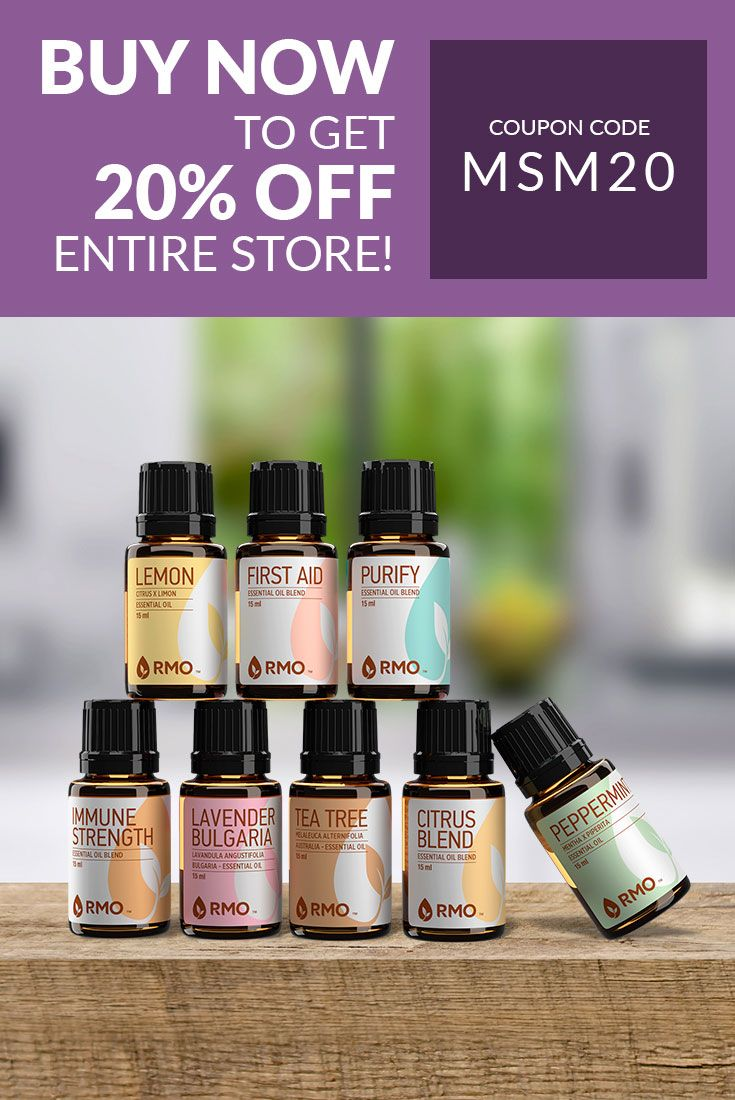 I've been trying out a new brand of essential oils, and I love them! Want to try them out for yourself? Get 20% off your entire order of Rocky Mountain Essential Oils with this exclusive coupon code!