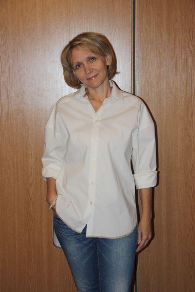 Выкройка мужской рубашки от Анастасии Корфиати