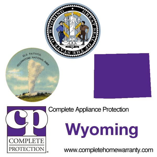 Wyoming Home Warranty - Complete Appliance Protection - Best Home Warranty Reviews - Call 1-800-978-2022 - Wyoming Home Warranty