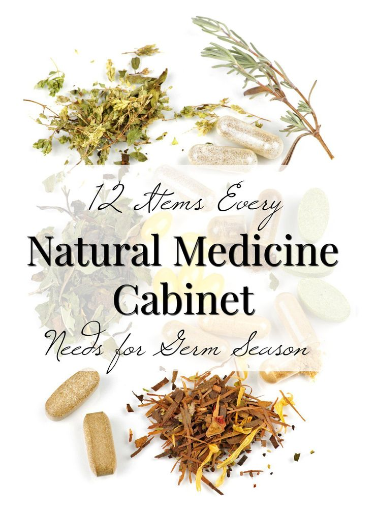 Building a Natural Medicine Cabinet: The Basics for Germ Season | A Healthy Slice of Life