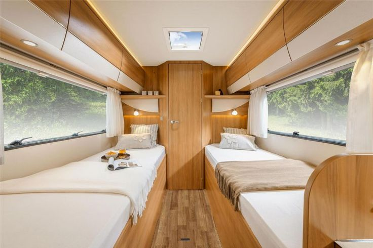 HYMER T-Class CL - twin beds - sleeping room - motorhomes - semi-integrated