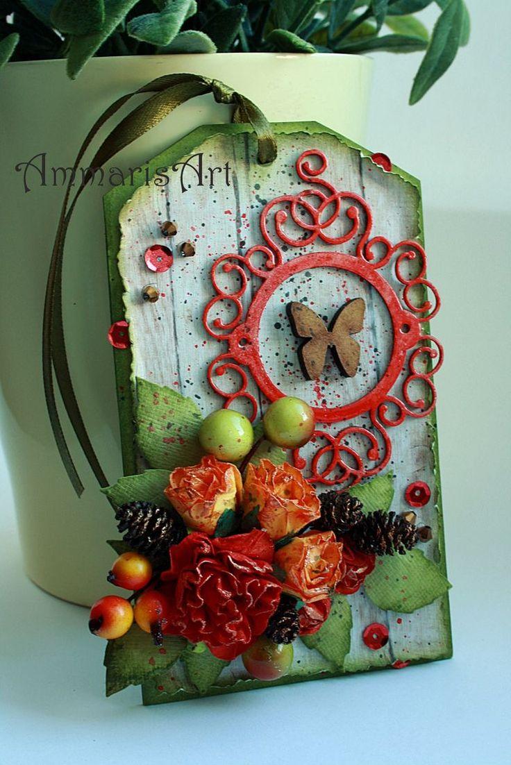 Ammaris Art: A touch of red