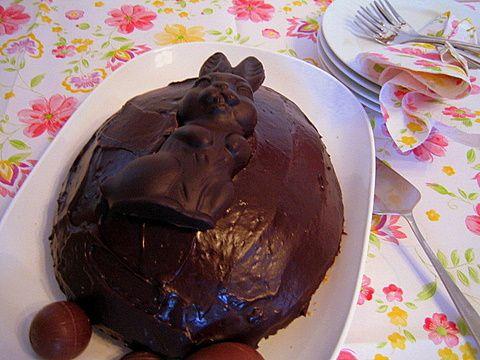 Pääsiäisen suklaakakku