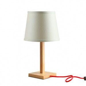 Bílá stolní lampa Tromso