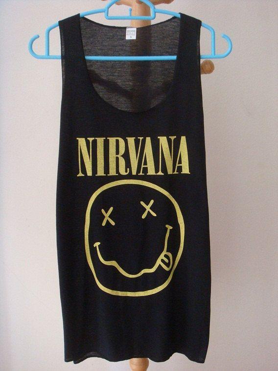 S M L XL NIRVANA Shirts Nirvana Shirts Rock by LookLikeLoveSHOP, $16.00