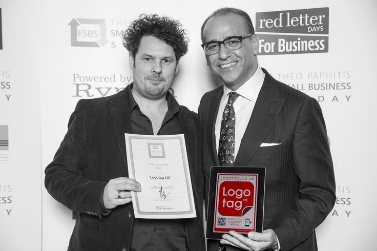 Here we are collecting our #SBS winners certificate from Theo at #SBSevent2015 #Theopaphitis