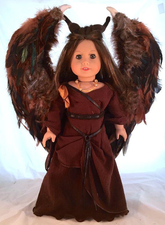 American Girl Doll Transformed into by enchanteddesigner on Etsy