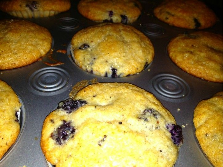 Blueberry Olive Oil Muffins - We Olive | Tasty Treats | Pinterest