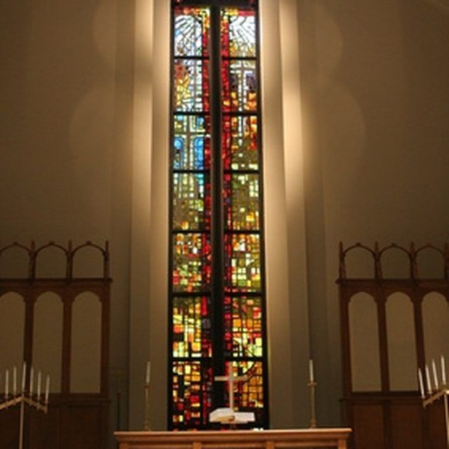 A majestic focal point in your sanctuary captures worshipers' attention.