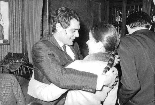 1965...Omar Charif et Geraldine Chaplin (Dr.Zivago)