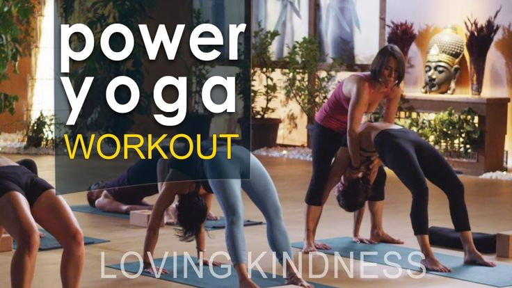 Yoga Flow Power Yoga Workout : Loving Kindness Check out our latest yoga flow video here: http://vid.io/xcTg