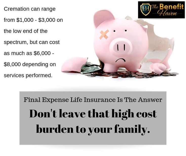 Final expense life insurance is probate free and debt