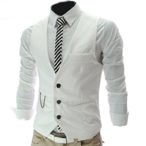 4 Farbe Herren Maenner Weste V-Neck Business Vest Gentleman Style Freizeit Anzug Guenstig Fashion Season, http://www.amazon.de/dp/B00JO8RJNK/ref=cm_sw_r_pi_dp_7Alytb0X53JWV
