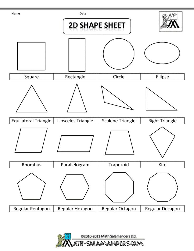 shape figures to print....great for personal anchor charts!