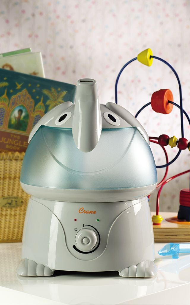 Humidifiers are a must-have in the nursery and this elephant humidifer from @CraneUSA is perfect in an elephant-themed nursery!