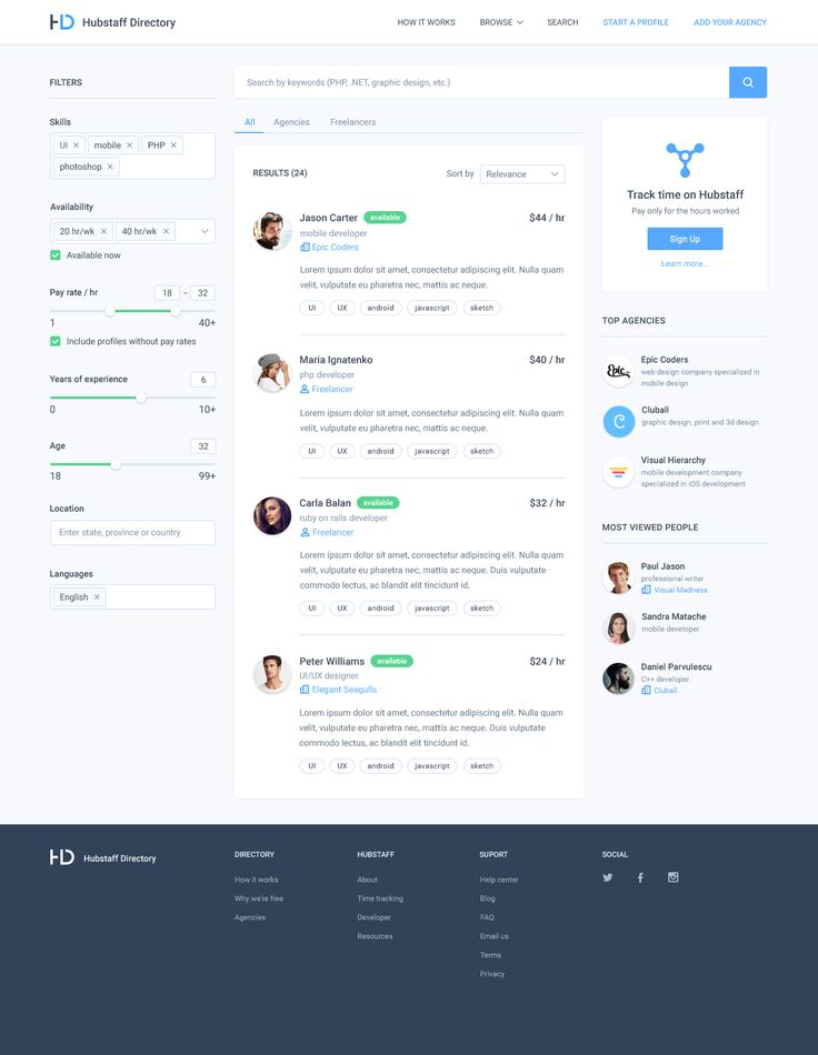Dribbble - directory_search.png by Adrian Goia